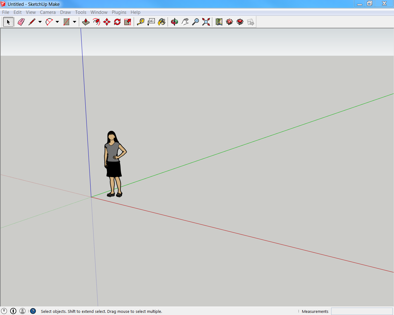 SketchUp Navigation and User Interface Tour, Part 2 - Toolbar and