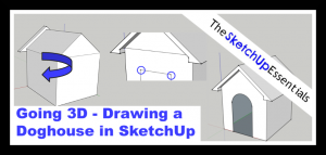 Thumbnail for SketchUp 3D Doghouse Model Tutorial