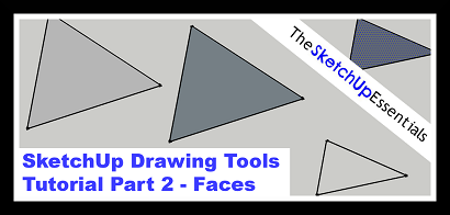 Thumbnail for Tutorial on Faces in SketchUp