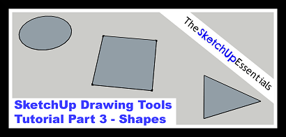 Thumbnail for Tutorial on Drawing Shapes in SketchUp