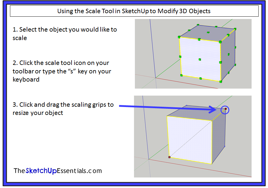 Sketchup math lesson 6 for Mirror in sketchup