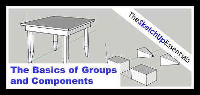 Thumbnail for Tutorial on SketchUp Groups and Components