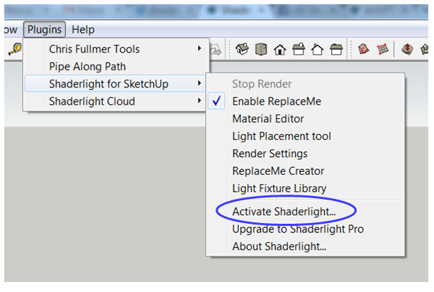 rendering your sketchup model in shaderlight the sketchup essentials