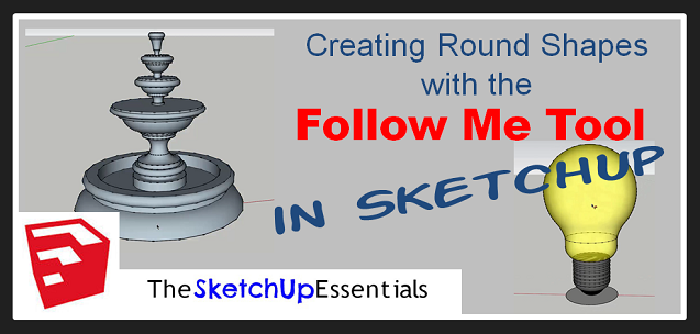 Using the SketchUp Follow Me Tool for Round Extrusions Thumbnail Smaller