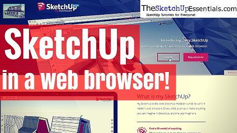 SketchUp in a Web Browser!!!!!!