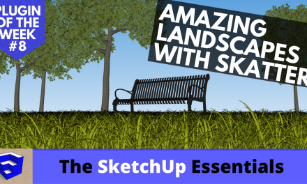 Create Amazing Landscapes with Skatter – SketchUp Plugin of the Week #8