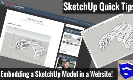 How to Embed SketchUp Models in a Web Page – SketchUp Quick Tips
