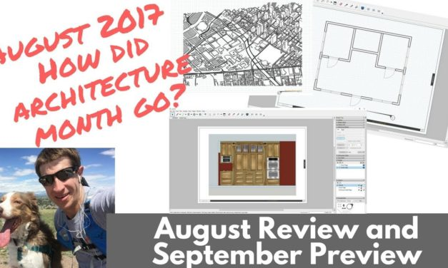 How Did Architecture Month Go? And What's Coming Up in September!
