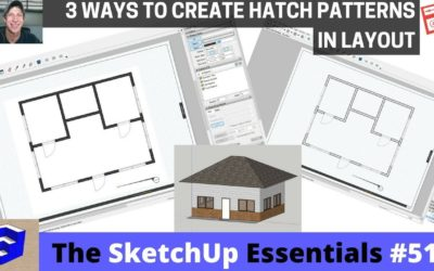 Creating Hatching in Layout from your SketchUp Model – The SketchUp Essentials #51