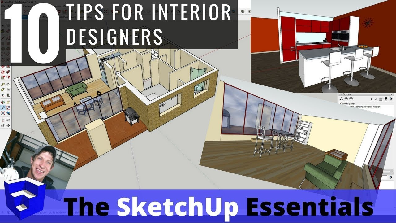 top 10 tips for interior design modeling in sketchup 5 is my rh thesketchupessentials com interior design sketchup models interior design sketchup models