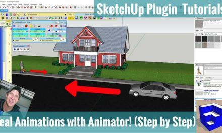 Creating Animations in Your SketchUp Model with Animator – Step by Step Extension Tutorial