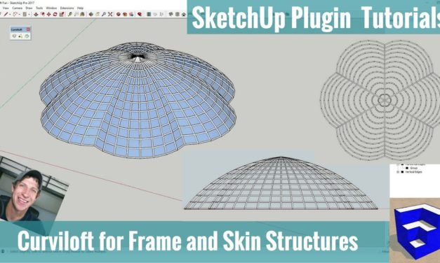 Fun With Curviloft – Creating a Frame and Skin Structure