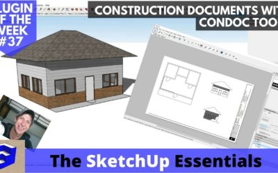Quick Construction Drawings from Your SketchUp Model with Condoc Tools – Plugin of the Week #37