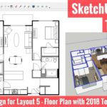 Creating a Floor Plan in Layout with SketchUp 2018's New Tools – Apartment for Layout Part 5!