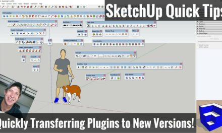USING THE STYLES TOOLBAR IN SKETCHUP - All tools explained