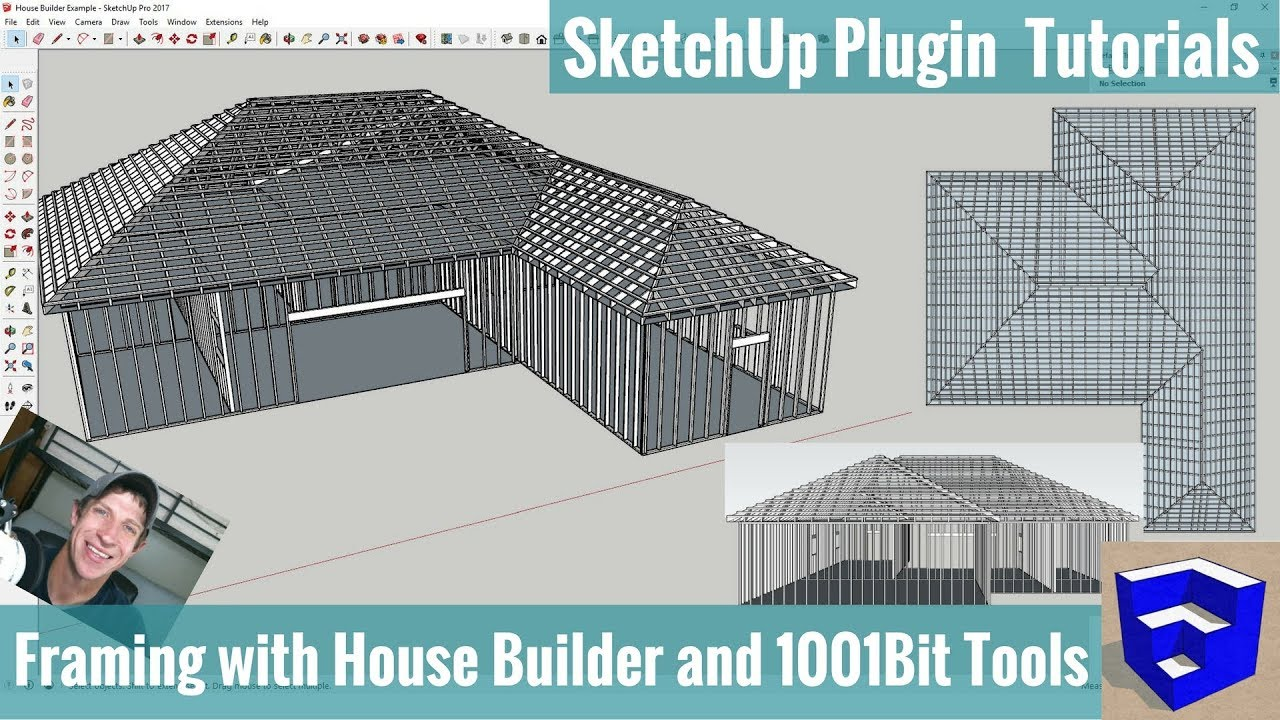 Modeling Framing in Your SketchUp Models with House Builder and ...