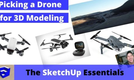 Selecting a Drone for 3D Modeling, Unboxing, and First Flight