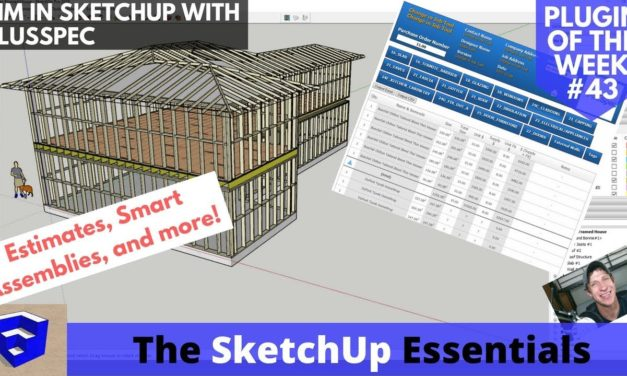 Smart Models in SketchUp with PlusSpec – The BIM Extension – Sketchup Plugin of the Week #43