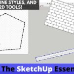 SketchUp Hatching, Lineweights, Line Styles, and More with 2D Tools – Extension of the Week #44