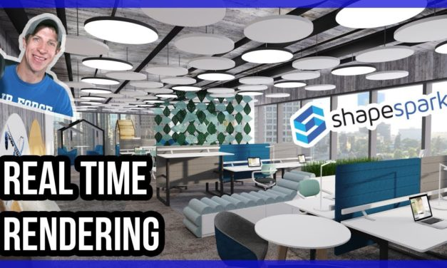 REAL TIME RENDERING IN SKETCHUP with Shapespark!