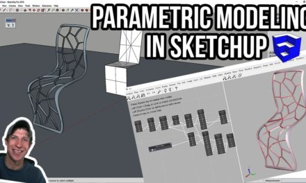 REAL CLOTH SIMULATION IN SKETCHUP with Clothworks! - The SketchUp