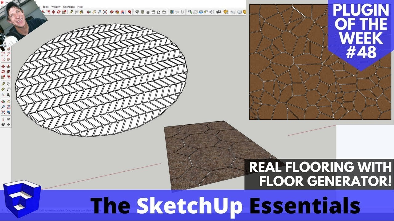 Create detailed flooring in SketchUp Fast with Floor ...