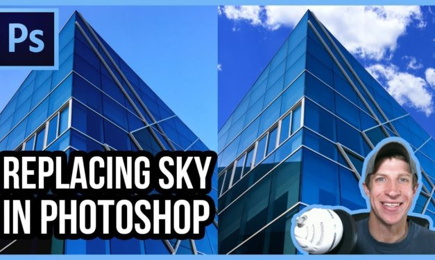 REPLACING THE SKY in Images Using Photoshop