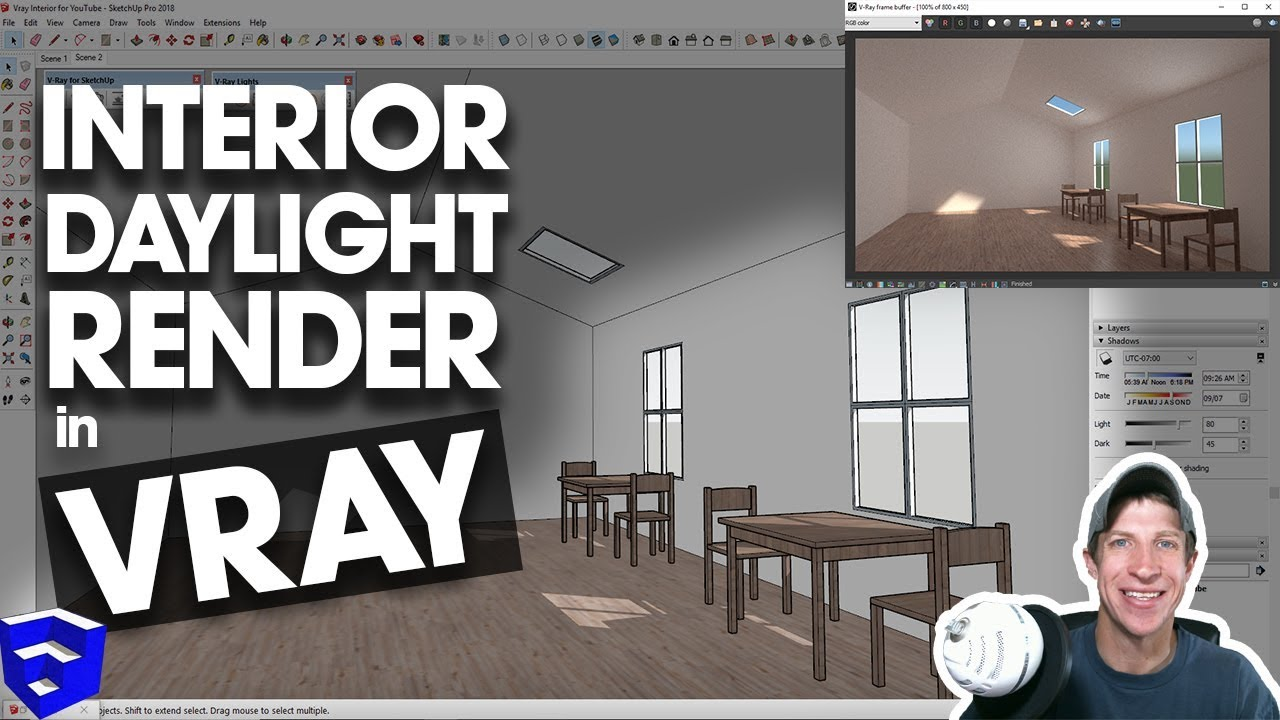 Vray sketchup 2016 render settings | Vray Settings for Sketchup