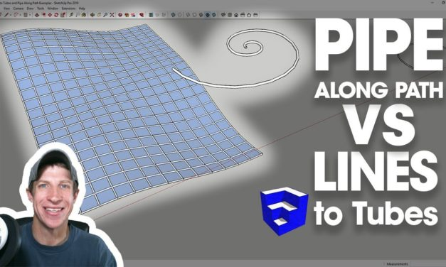 SketchUp Lines to Tubes Tutorials Archives - The SketchUp