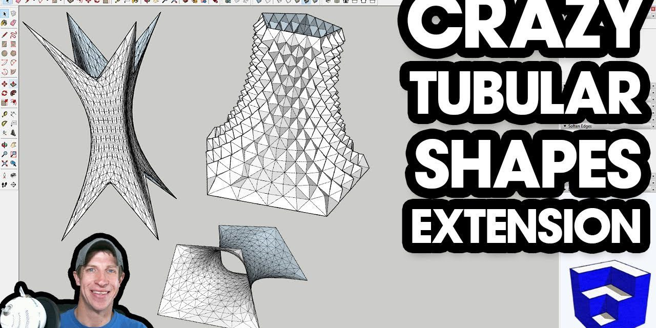 Crazy Organic Tubular Shapes in SketchUp! - The SketchUp Essentials