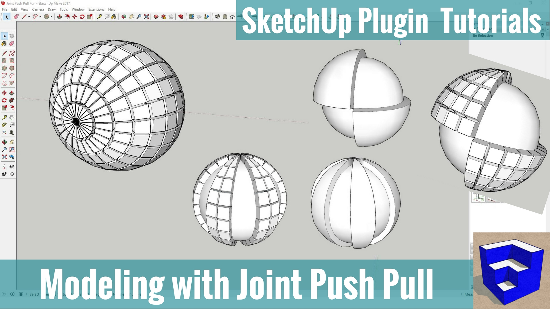 Joint Push Pull for SketchUp Tutorials - The SketchUp Essentials