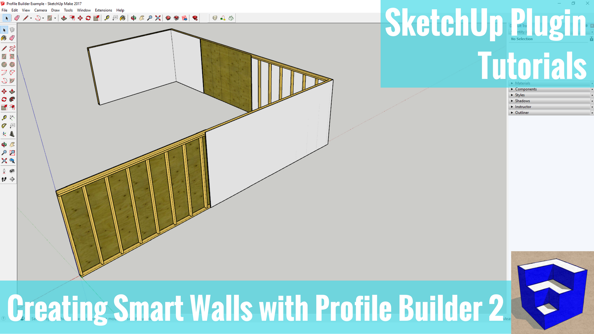 Profile Builder Tutorials - The SketchUp Essentials