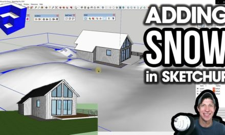 REAL CLOTH SIMULATION IN SKETCHUP with Clothworks! - The